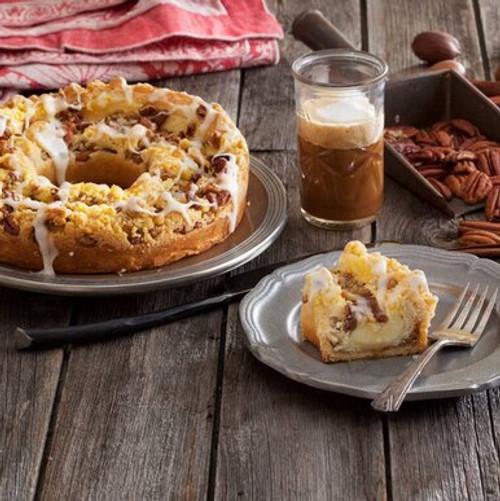 O&H Pecan Custard Coffee Cake