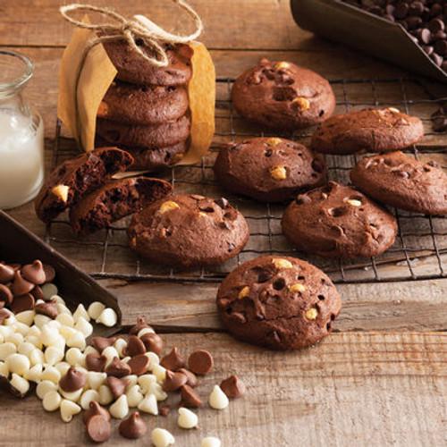 Gluten-Free Triple Chocolate Cookies