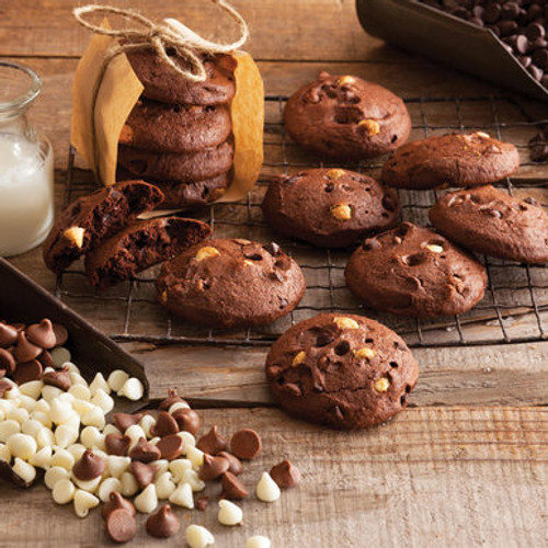 Gluten-Free Triple Chocolate Cookies