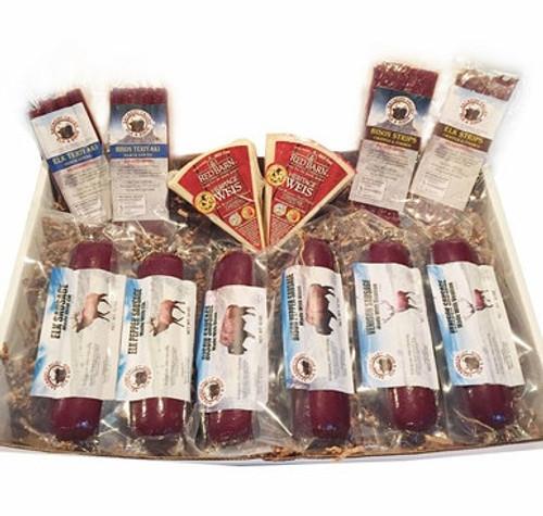 Bison, Elk and Venison Snack Gift Box