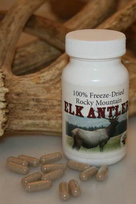 All-Natural Antler Supplement Capsules for Dogs