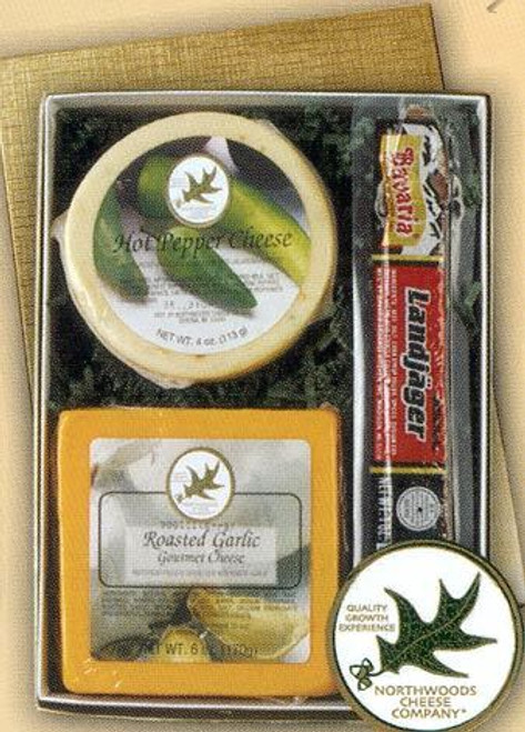 Cheese and Landjager Combo Gift Box
