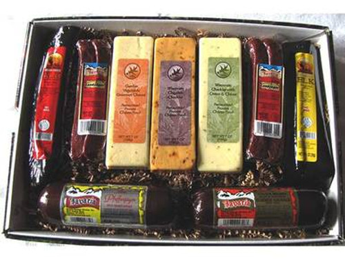 Grande Wisconsin Cheese and Sausage Assortment
