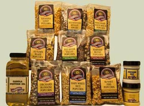 Star Selections Popcorn Sampler Gift Box