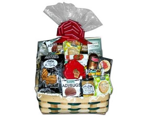Wisconsin Favorite Snack Gift Basket