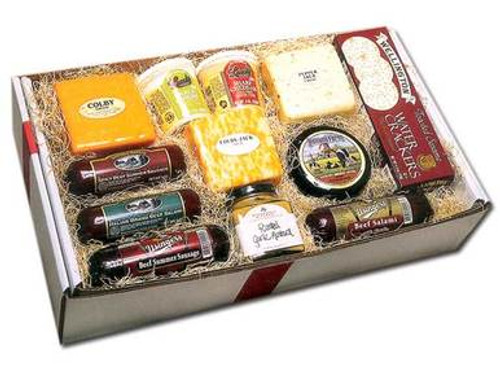 Deluxe Cheese and Sausage Gift Box
