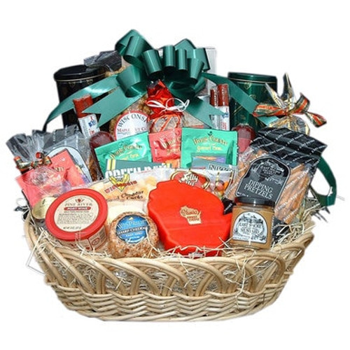 Ultimate Wisconsin Party Treats Gift Basket