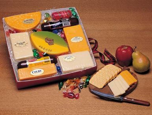 Packer Cheese and Sausage Gift Box