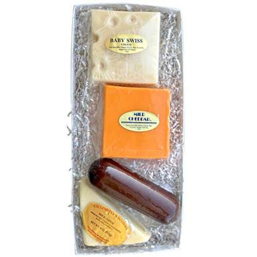 Wisconsin Select Sausage and Cheese Gift Box