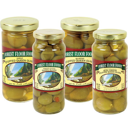 Forest Floor Foods Gourmet Stuffed Olives Variety Pack