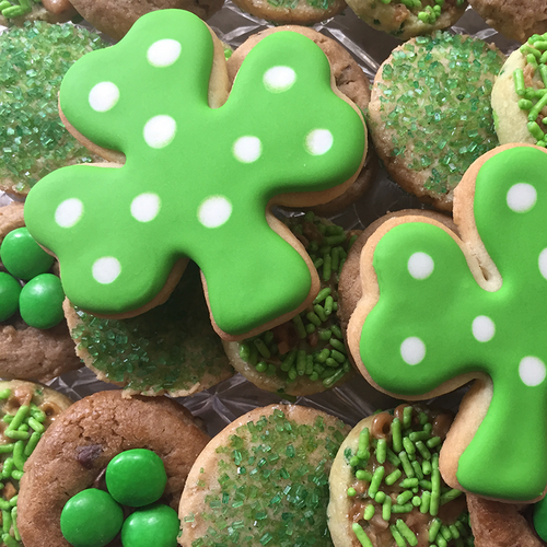 Luck of the Irish Sugar Cookies