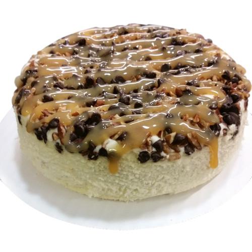 Gluten-free Turtle Cheesecake