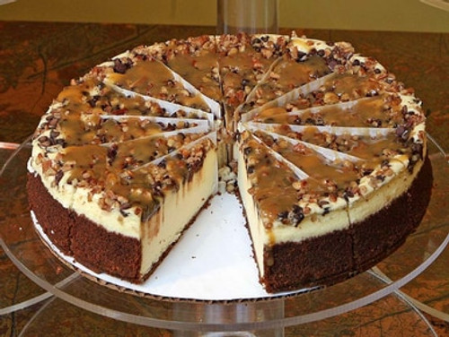 Gourmet Turtle Cheesecake - Large