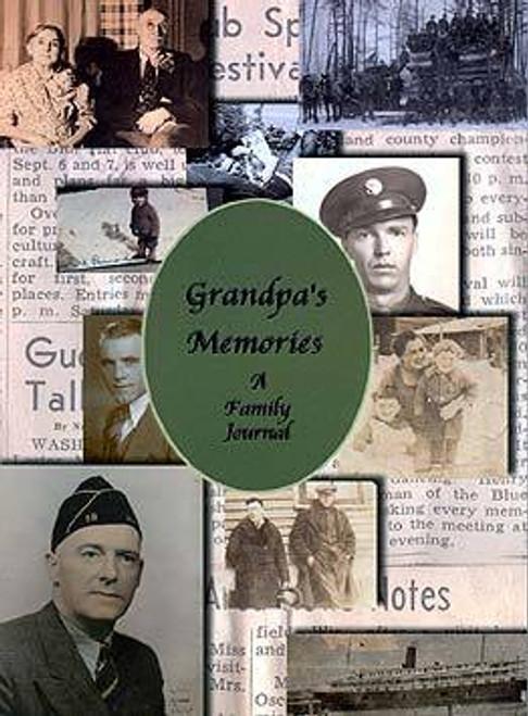Grandpas Memories Journal Book