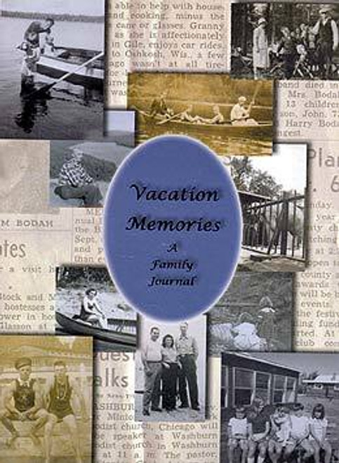 Vacation Memories Family Journal Book