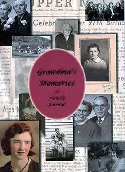 Grandmas Memories Journal Book