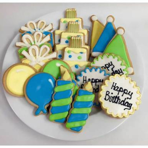 Happy Birthday Sugar Cookie Gift Tin