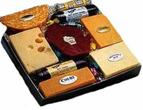 Badger State's Pride Cheese and Sausage Gift Box