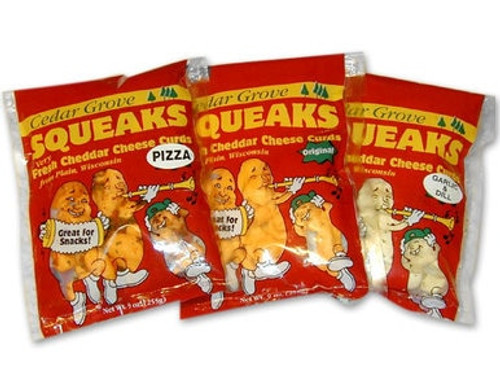 Cheddar Cheese Curd Variety Pack