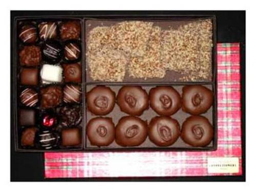Three Cheers Holiday Chocolate Gift Box