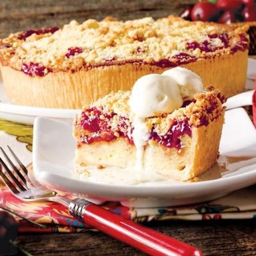 Danish Cherry Bread Pudding