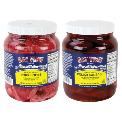 Bay View Pickled Meats Combo - 2 Jars