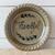 Rowe Pottery Seasonal Pie Plate - Thankful Pattern
