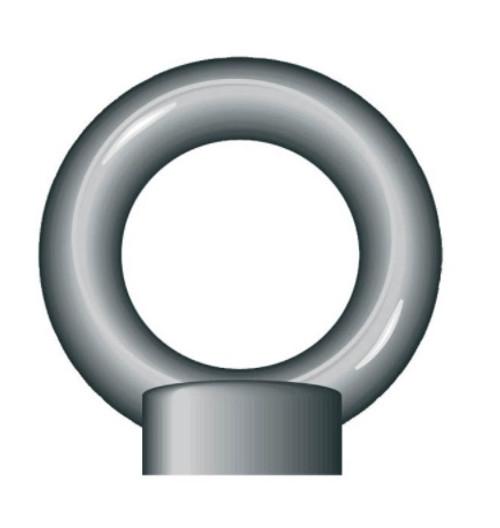 Zinc Plated Eyenut