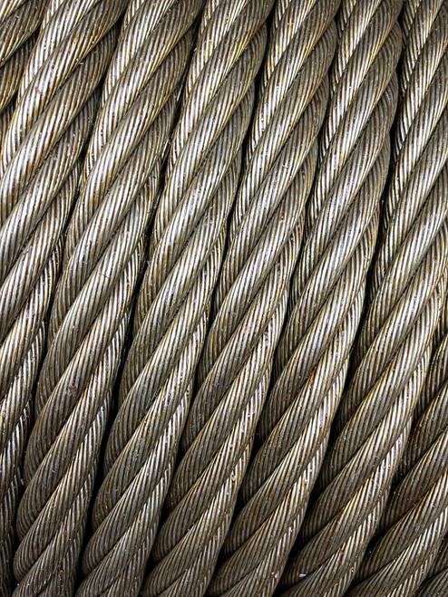 10mm - 28mm Galvanised Wire Rope - Per Metre