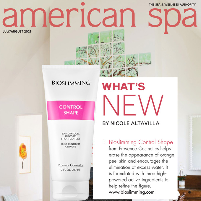 BIOSLIMMING CONTROL SHAPE SEEN THIS MONTH IN AMERICAN SPA