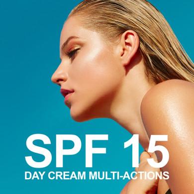 DAY CREAM MULTI-ACTIONS SPF 15