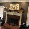 Farm Fresh Christmas Trees {Mantle Piece}