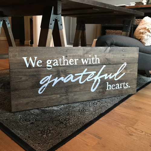 We Gather with Grateful Hearts