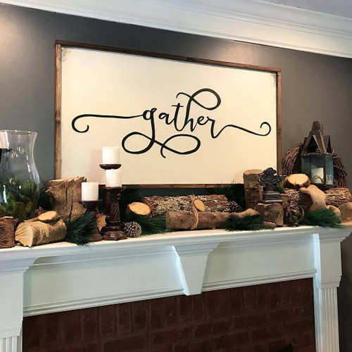 Gather {Mantle Piece}