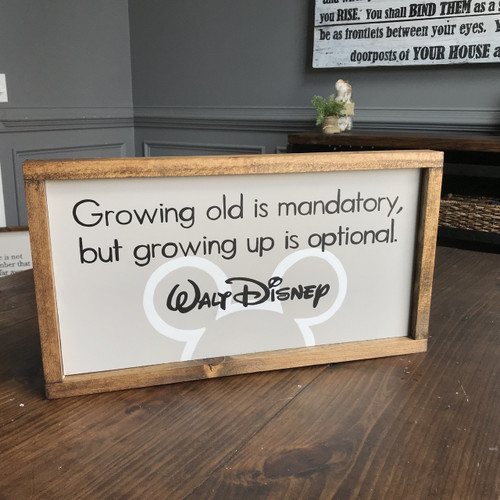 Growing Up is Optional