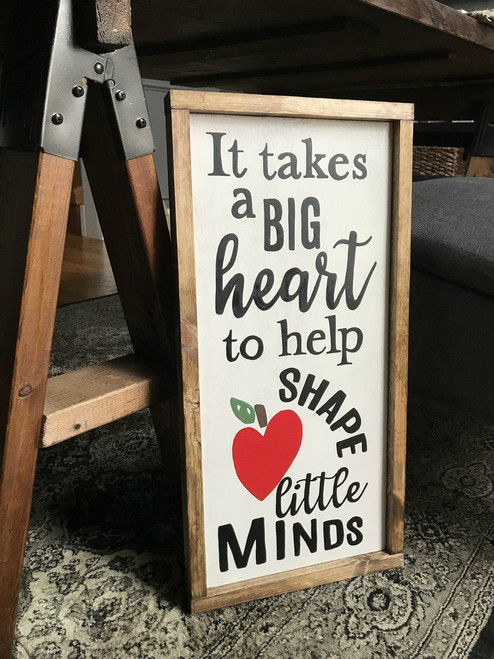 A Big Heart {Teacher Gift}