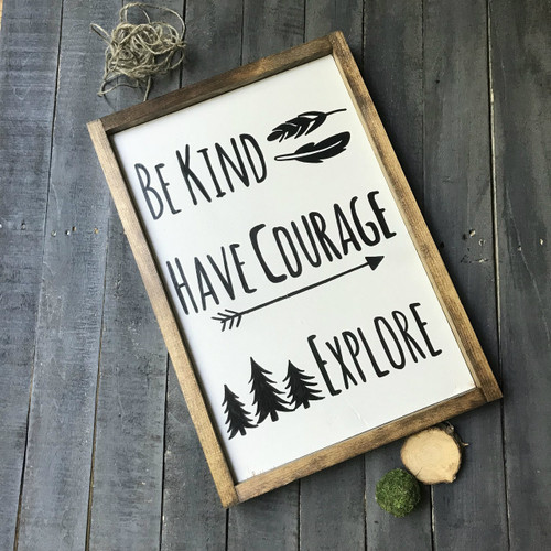 Be Kind, Have Courage, Explore