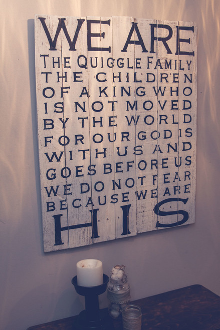 WE ARE HIS