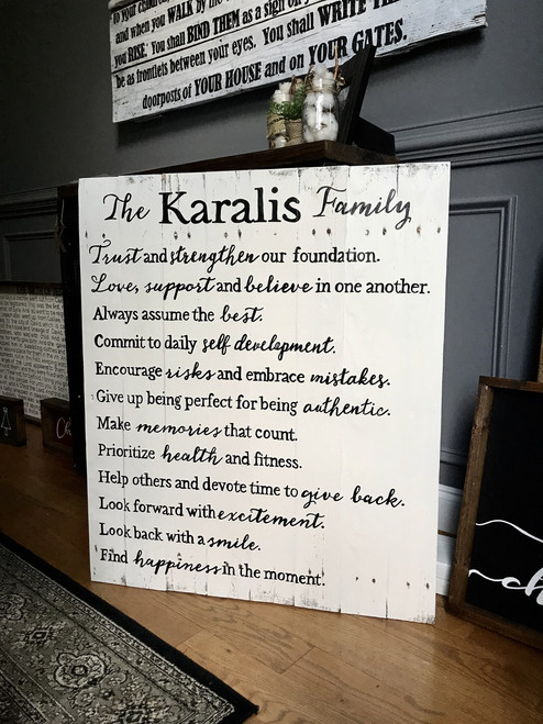Family Mission Statement {Karalis Design}