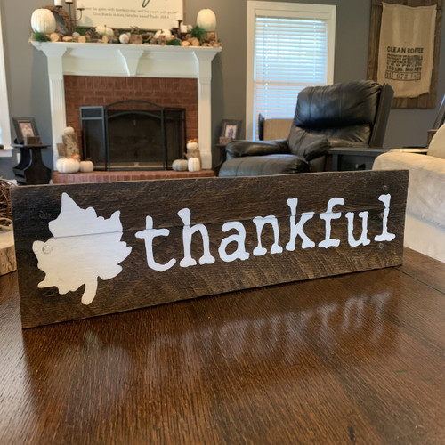Thankful Tabletop {Fall Leaf}