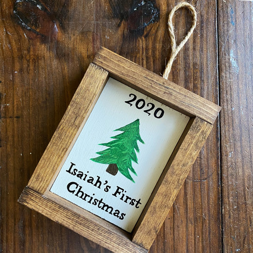 2020 Baby's 1st Christmas Ornament