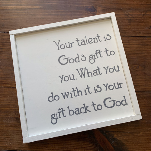 Your Gift Back to God