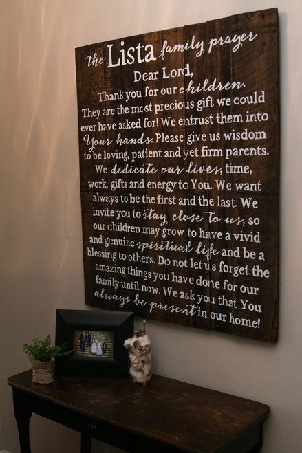 Family Prayer {Lista Design}