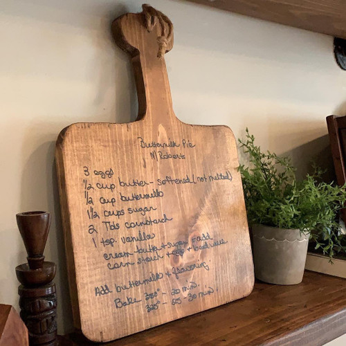 Cutting Board Heirloom {short recipe only}