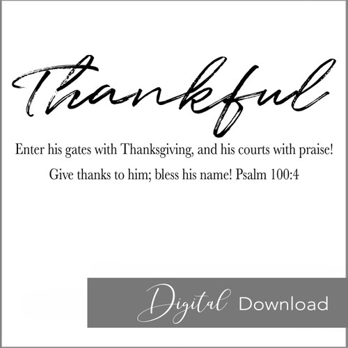 Thankful {PRINTABLE}