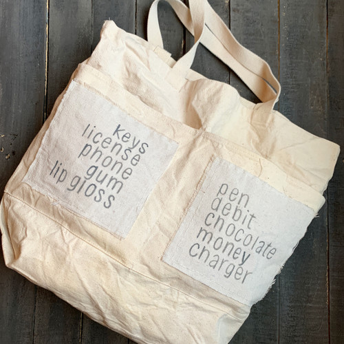 Everything a Girl Needs Canvas Tote