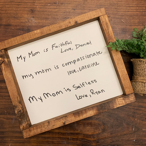Mama Heirloom 7X9 Size {Mother's Day}