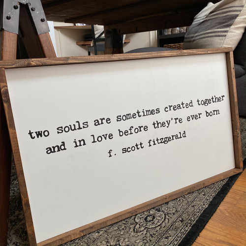 Two Souls {F. Scott Fitzgerald}