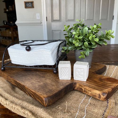 Large Cutting Board Decorative Tray
