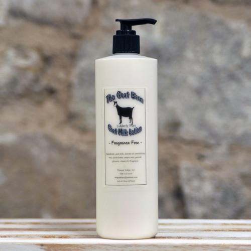 Goat Barn 1002 Lotion Fragrance Free 16 oz